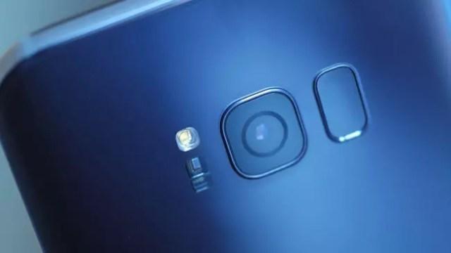Samsung Galaxy S8+ cámara