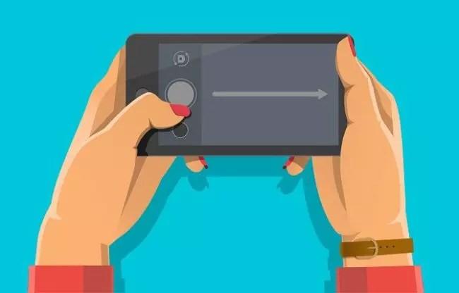 cámara de móvil