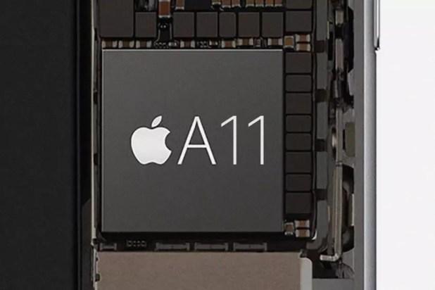 Procesador Apple A11 del iPhone 8