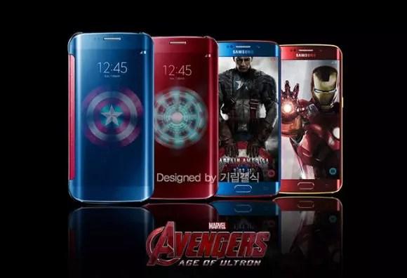 Samsung Galaxy℗ S6 de los vengadores
