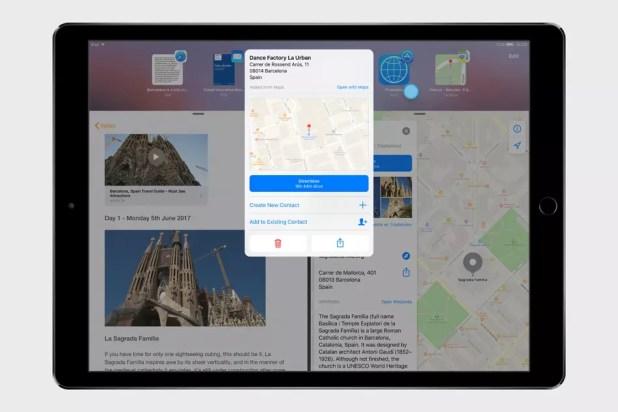 Versión de iOS 11 optimizada para iPad Pro