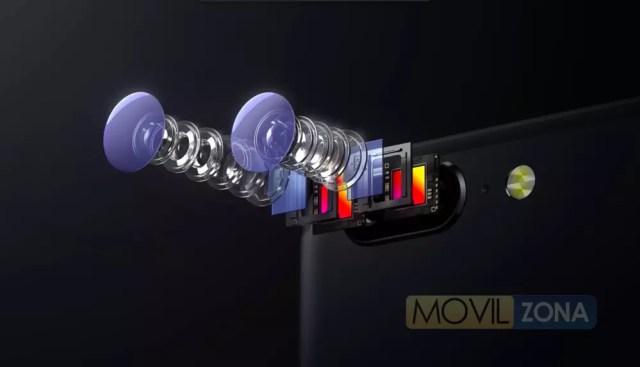 OnePlus 5 con doble cámara trasera