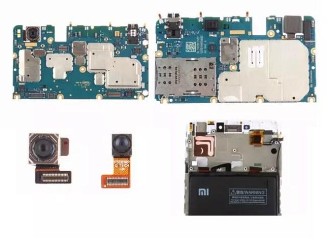 componentes del xiaomi mi max 2