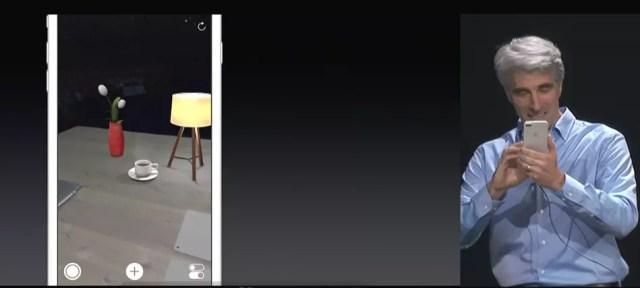 Soporte para la realidad aumentada en iOS 11