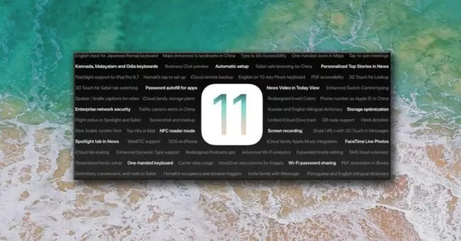 logo de iOS® 11