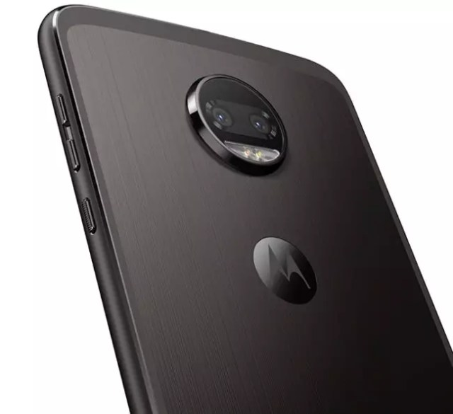 Cámara del Moto Z2 Force Edition