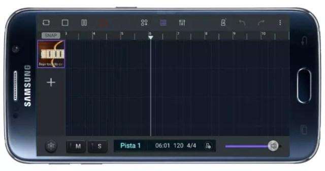 Gestión pistas en Soundcamp