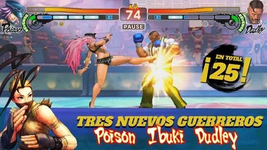 Street Fighter IV: Champion Edition llega a iOS