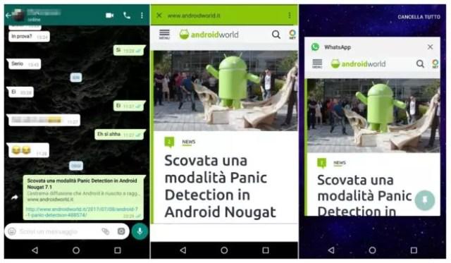 navegador interno en WhatsApp