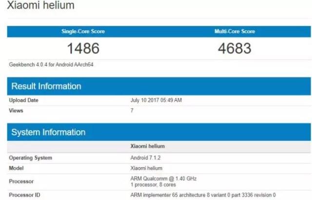 Xiaomi Helium, nuevo terminal Xiaomi