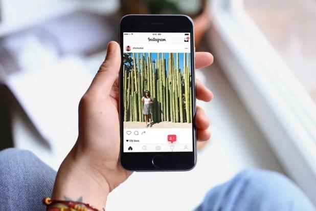 Aplicación de Instagram para el móvil