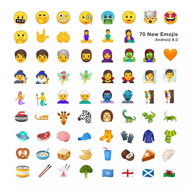 Emojis disponibles en <stro data-recalc-dims=
