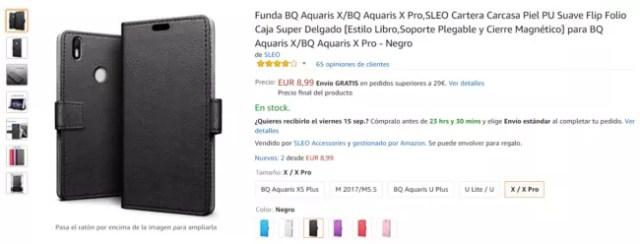 5 fundas baratas para el bq aquaris x y el bq aquaris x pro pro m viles - Fundas baratas para moviles ...