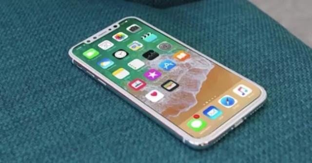 iPhone 8 de color blanco
