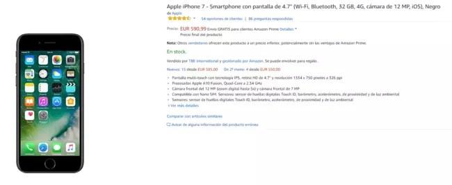 precio del iPhone® 7