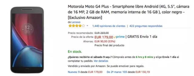 moto g4 plus amazon