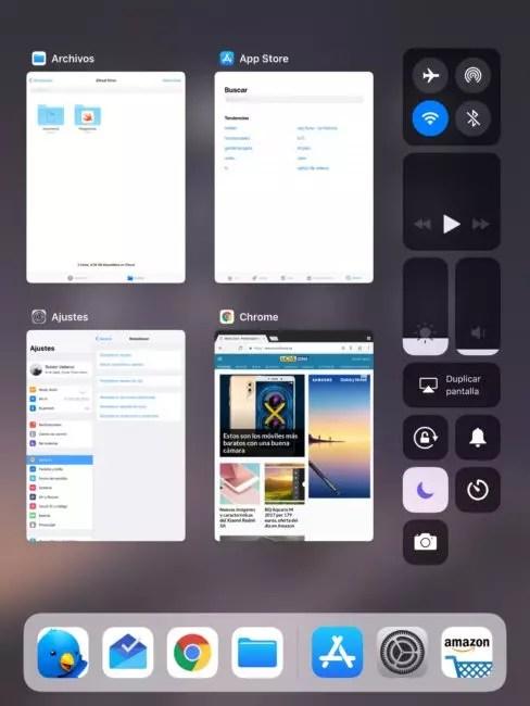 Aplicaciones recientes y multitarea iOS℗ 11
