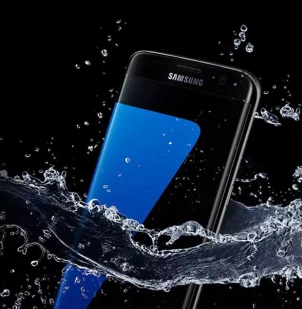 Samsung Galaxy S8 de frente