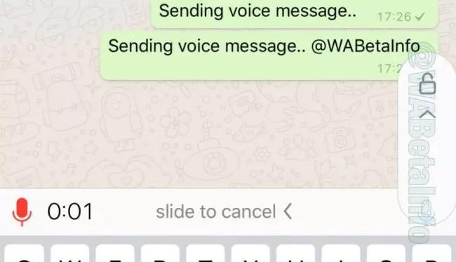 bloqueo notas de voz whatsapp