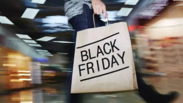 Bolsa de la compra con el logotipo del Black Friday