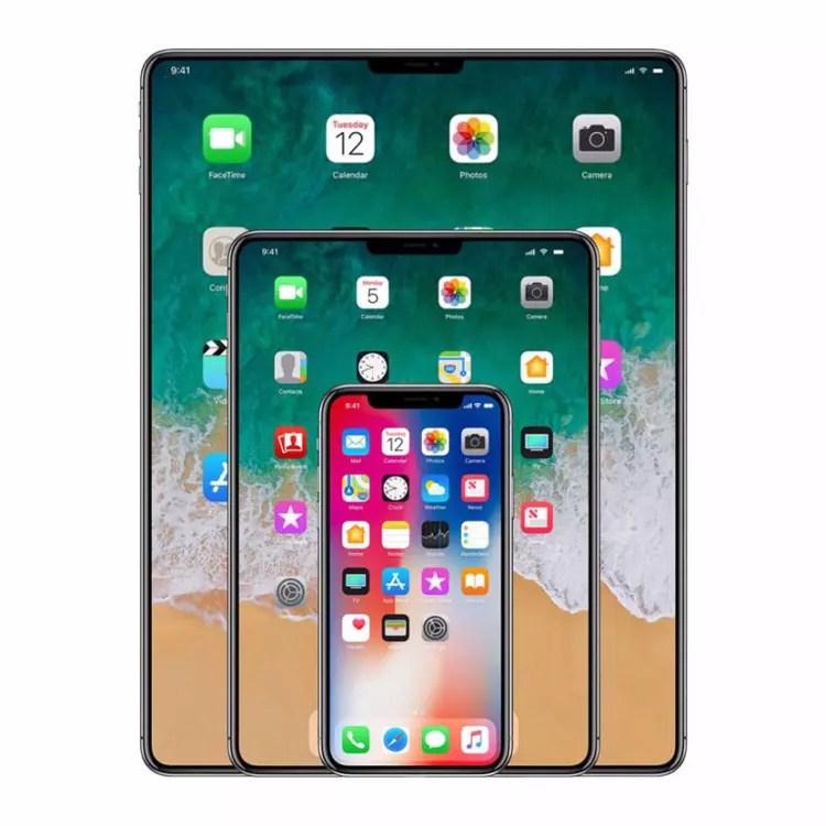 iPad con pantalla sin apenas marcos
