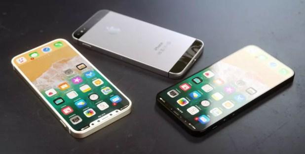 Diseño conceptual de un iPhone SE 2018