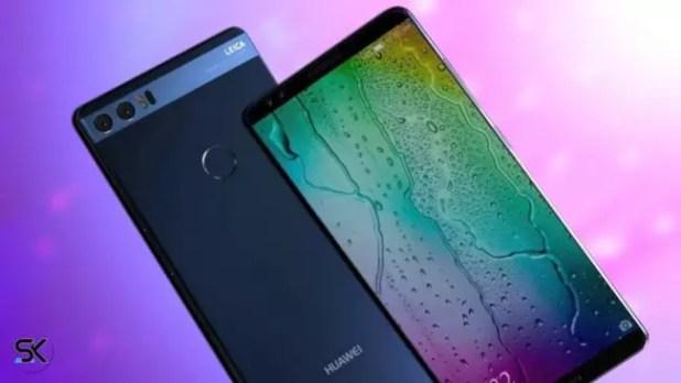 Concepto del Huawei P11 con pantalla FullView