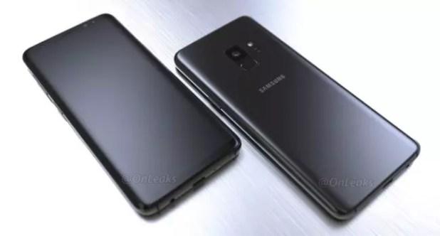 Renders del Galaxy S9