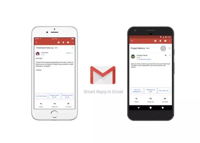 Respuestas inteligentes en Gmail