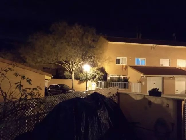 Foto por la noche con el Motorla Moto G5S Plus