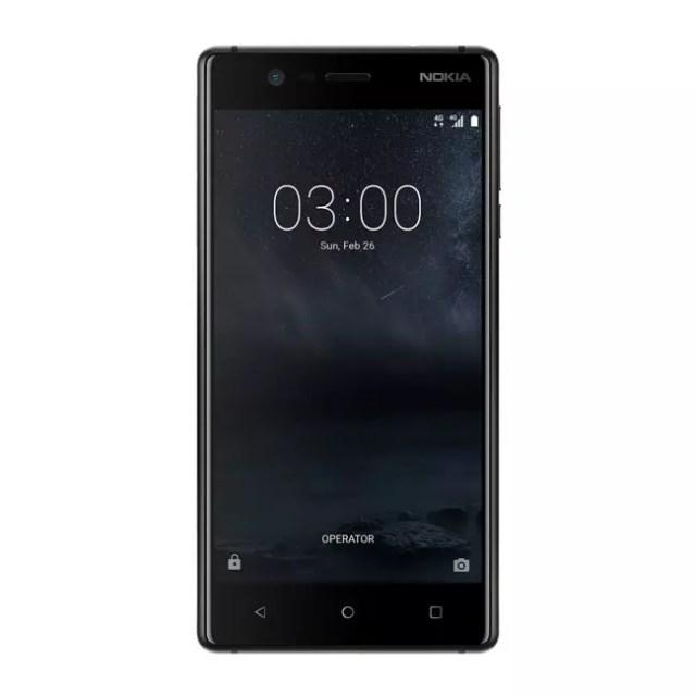Nokia 3 en negro
