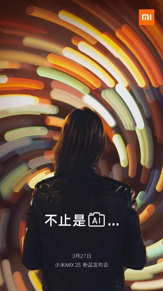 Detalles sobre la tecnología de inteligencia artificial integrada en la cámara del Xiaomi Mi Mix 2S