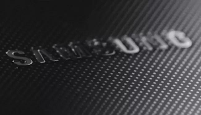 Logotipo de Samsung en color gris