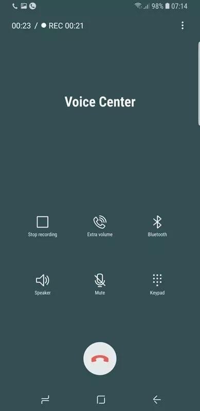 grabar llamadas Samsung℗ Galaxy℗ S9