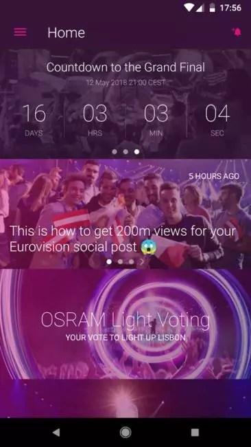 Cómo visualizar la Final de Eurovisión 2018