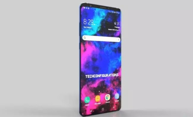 Samsung Galaxy℗ S10 Plus-concepto