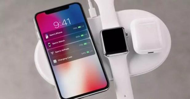 Carga inalambrica-iPhone X