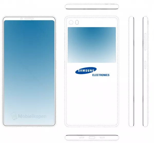 Posible Samsung Galaxy con 2 pantallas