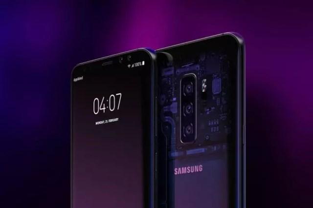 Galaxy S10-concepto