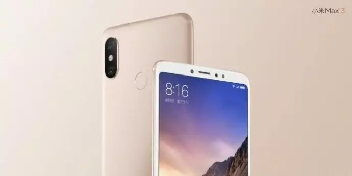 Xiaomi Mi Max 3-design-features