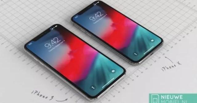 iphone 9 y iphone x 2018