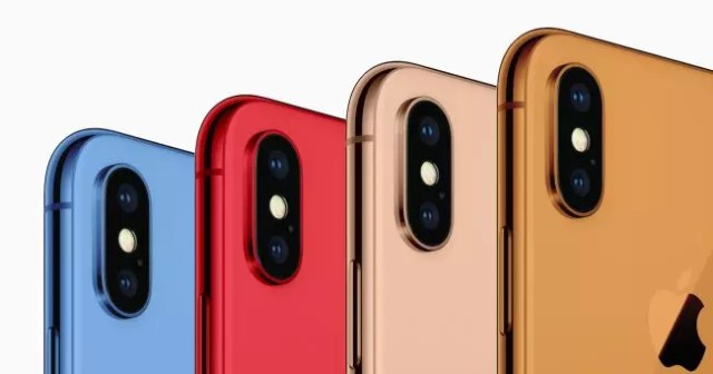 iphone x 2018 colores
