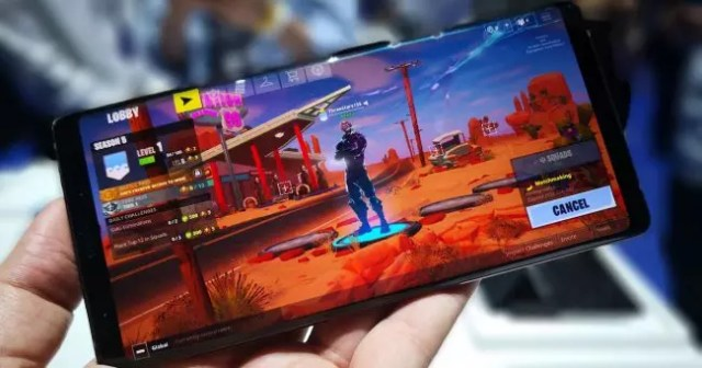 Fortnite en Note 9
