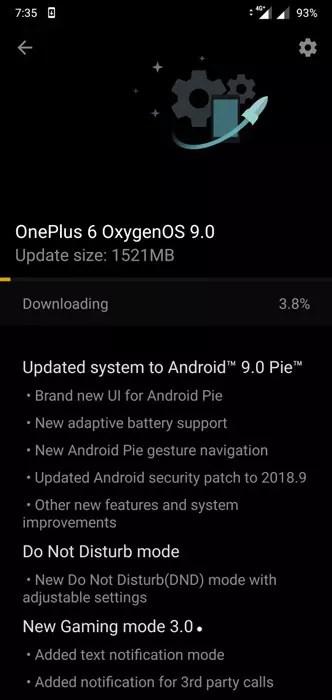 Descarga del firmware OxygenOs 9.0 con <stro data-recalc-dims=