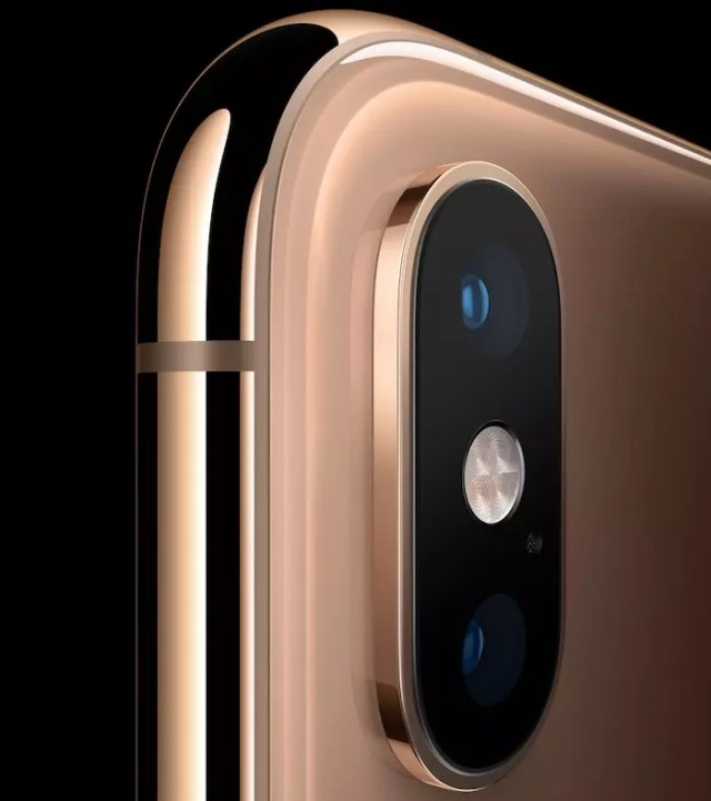 camara del iphone xs max - oficial