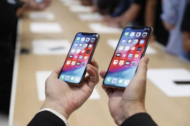 Pantallas de los iPhone XS y iPhone XS Max