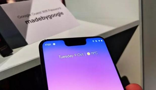 Ausencia de LED de notificaciones en el frontal del Google Pixel 3 XL