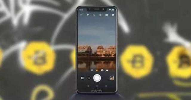 Aplicación cámara del Motorola℗ One