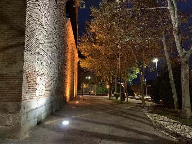 Foto tomada de noche con la cámara del iPhone XS Max