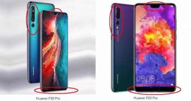 Huawei P30 Pro vs Huawei P20 Pro